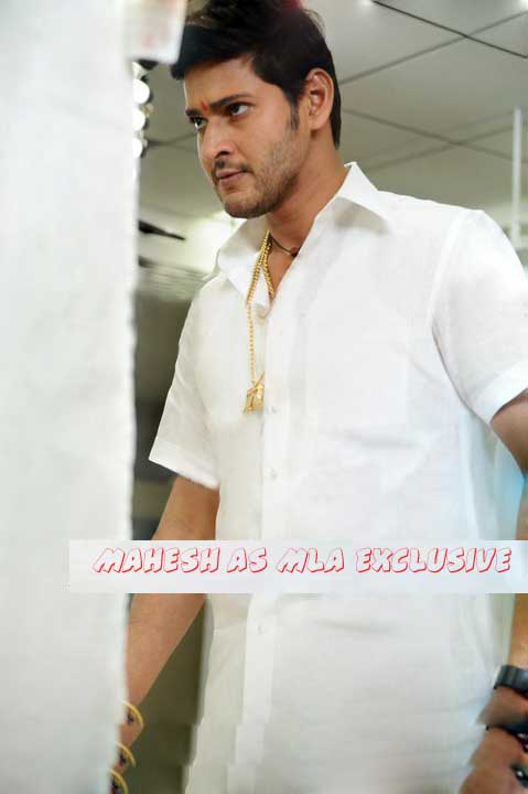 Mahesh Babu as MLA in Dhookudu
