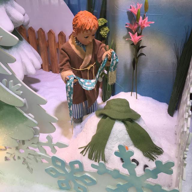 fenwick window the snowman newcastle