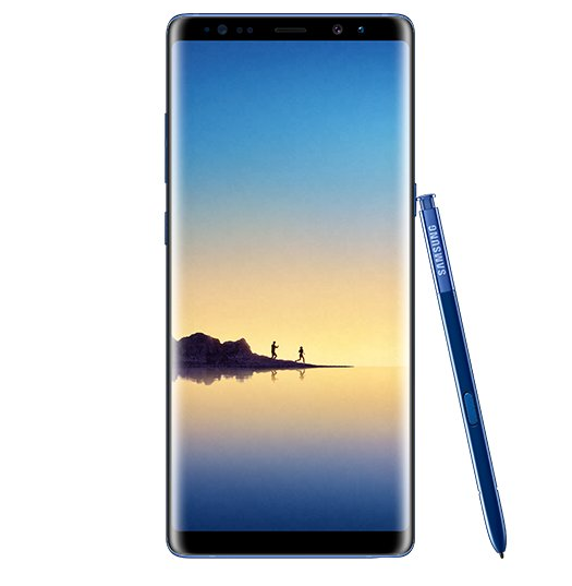 Galaxy Note 8 Rendering Leaks In A Heavy Sea Blue Color Version