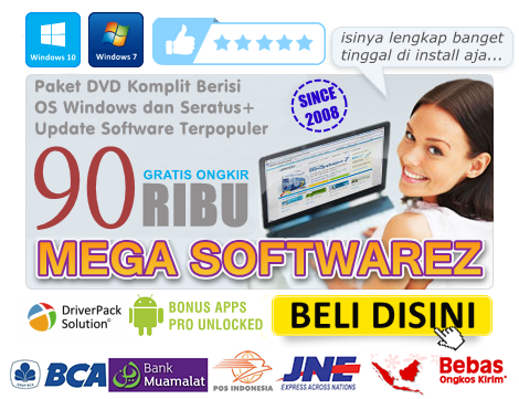 DVD MEGA SOFTWAREZ Rilis Update 29.6.6