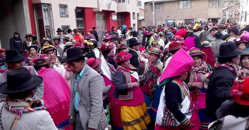 Declaran al carnaval de Ichuña Patrimonio Cultural de la Nación (R. VM. Nº 226-2017-VMPCIC-MC) www.cultura.gob.pe