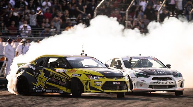 Aasbo, Scion hold tight to win Formula Drift Round 3 in Orlando