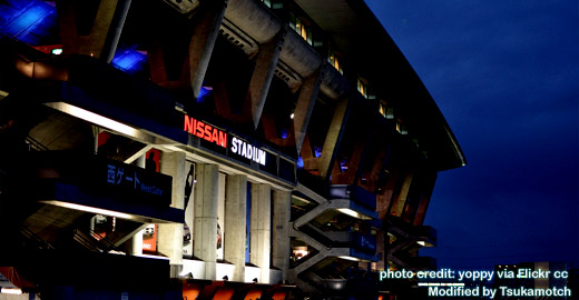 Nissan Stadium photo credit by yoppy