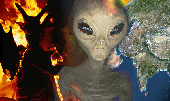 End of the world: Aliens sent by the Devil are coming to DESTROY EARTH.