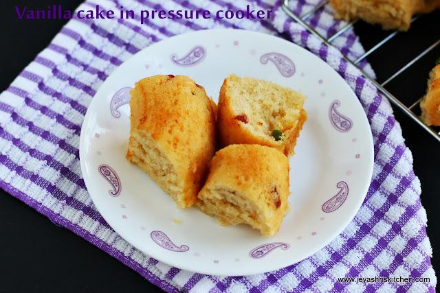cake in pressure cooker