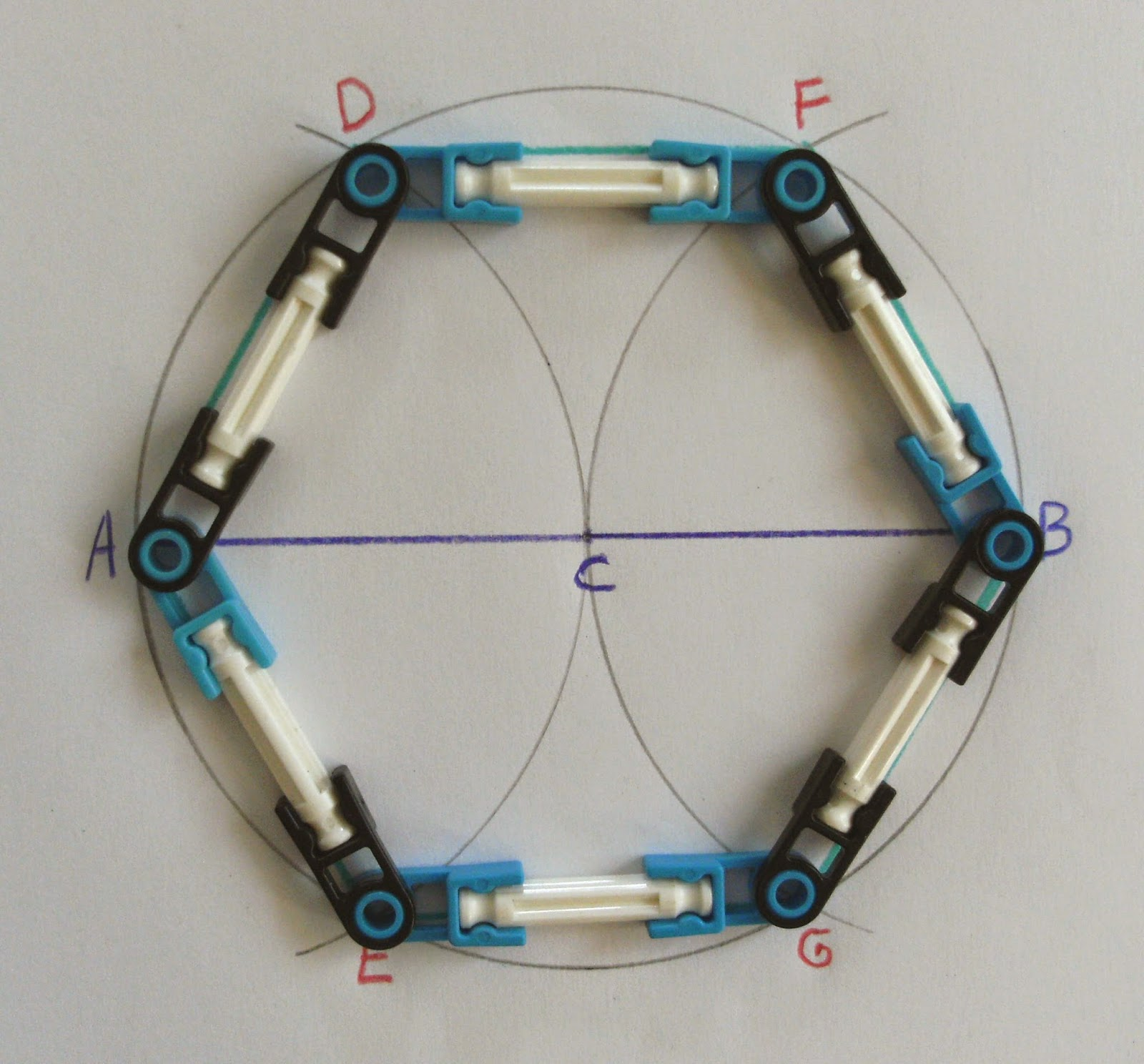 Yet Another Hexagon Inscribed in a Circle | Math on the ...