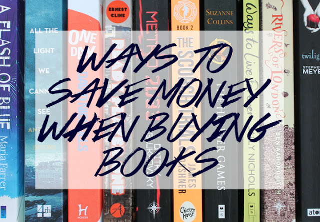 7 Ways To Save Money When Buying Books