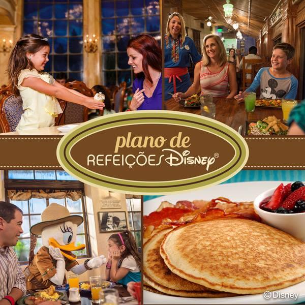 Plano de refeição da Disney