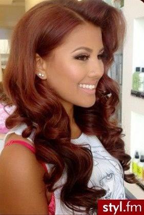 Deep Rich Auburn Hair Color