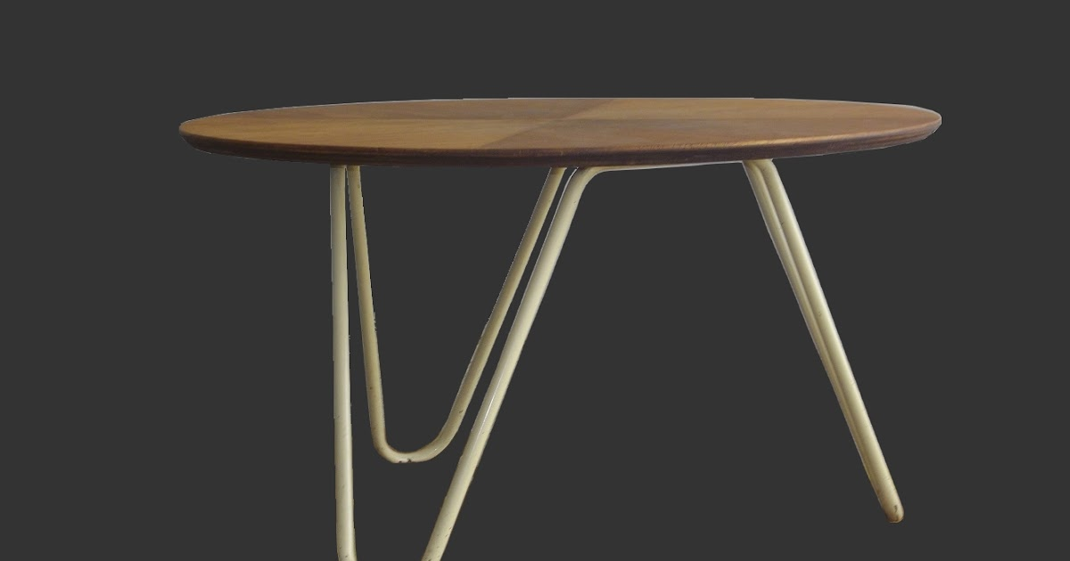 La Renaissance Du Design Xx Jacques Hitier Table Basse Ronde Tubauto