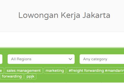 Cari Lowongan Logistik Jakarta Via Online, Ini Keuntungannya