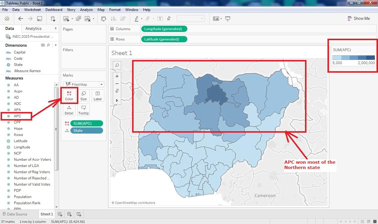 Geospatial Solutions Expert: Spatial Analysis of Nigeria