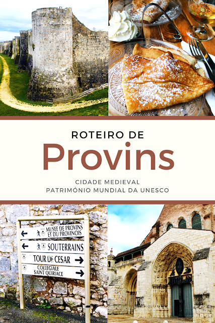 Roteiro de Provins, cidade medieval Património Mundial da UNESCO