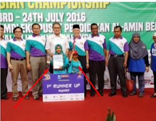 Hebat!!! Kakak Beradik Siswa MI Meraih Medali Emas Di Ajang Lomba Robotik Di Malaysia
