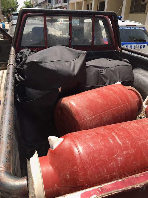 Τους συνέλαβαν στη Βουνοπλαγιά Ιωαννίνων με περισσότερα απο 69- κιλά κάνναβης [φωτο ΕΛ.ΑΣ]