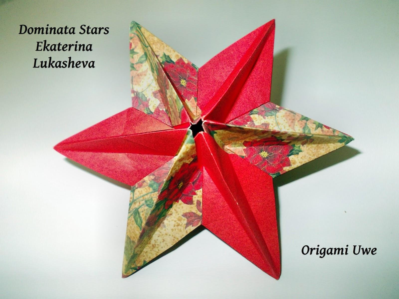 origami fleurogami und sterne kleiner dominanta stern by ur fleurogami. Black Bedroom Furniture Sets. Home Design Ideas