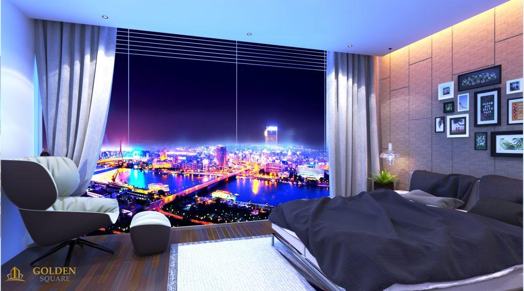 Căn hộ khách sạn Alphanam Golden Square Đà Nẵng