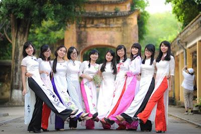 May áo dài đồng phục đẹp ở Hà Nội