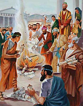 Paul spent years in Ephesus (Acts 19:10) and performed 'extraordinary miracles' there (verse 11).