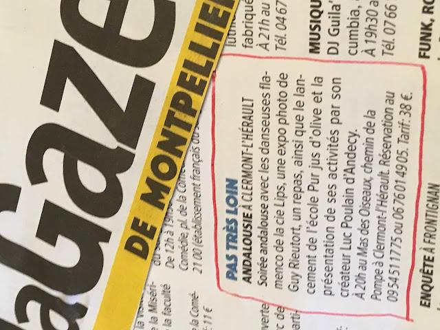 La Gazette l'avait annoncée : école pur jus d'olive à Clermont-l'Hérault