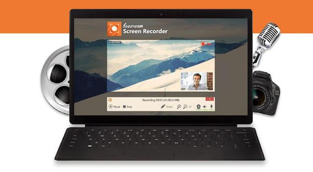 برامج تصوير وتسجيل فيديو وصوت سطح شاشة مكتب الكمبيوتر Screen Recorder