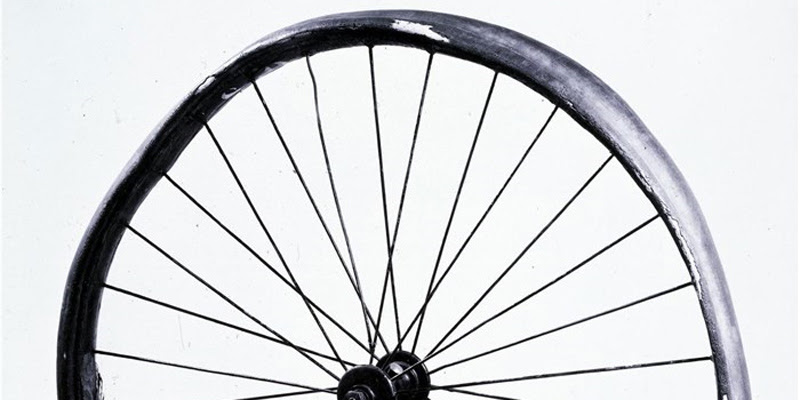 First Pneumatic Bicycle Tire