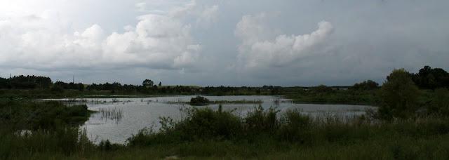 Lagunas creadas a partir de las canteras de fosfato