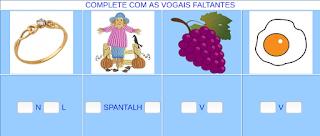 http://www.jogosdaescola.com.br/play/atividades/atividades_portugues/completar_palavras_20.html
