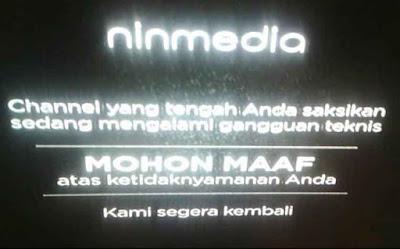 Channel MNC Group Tidak Ada Siaran di Ninmedia