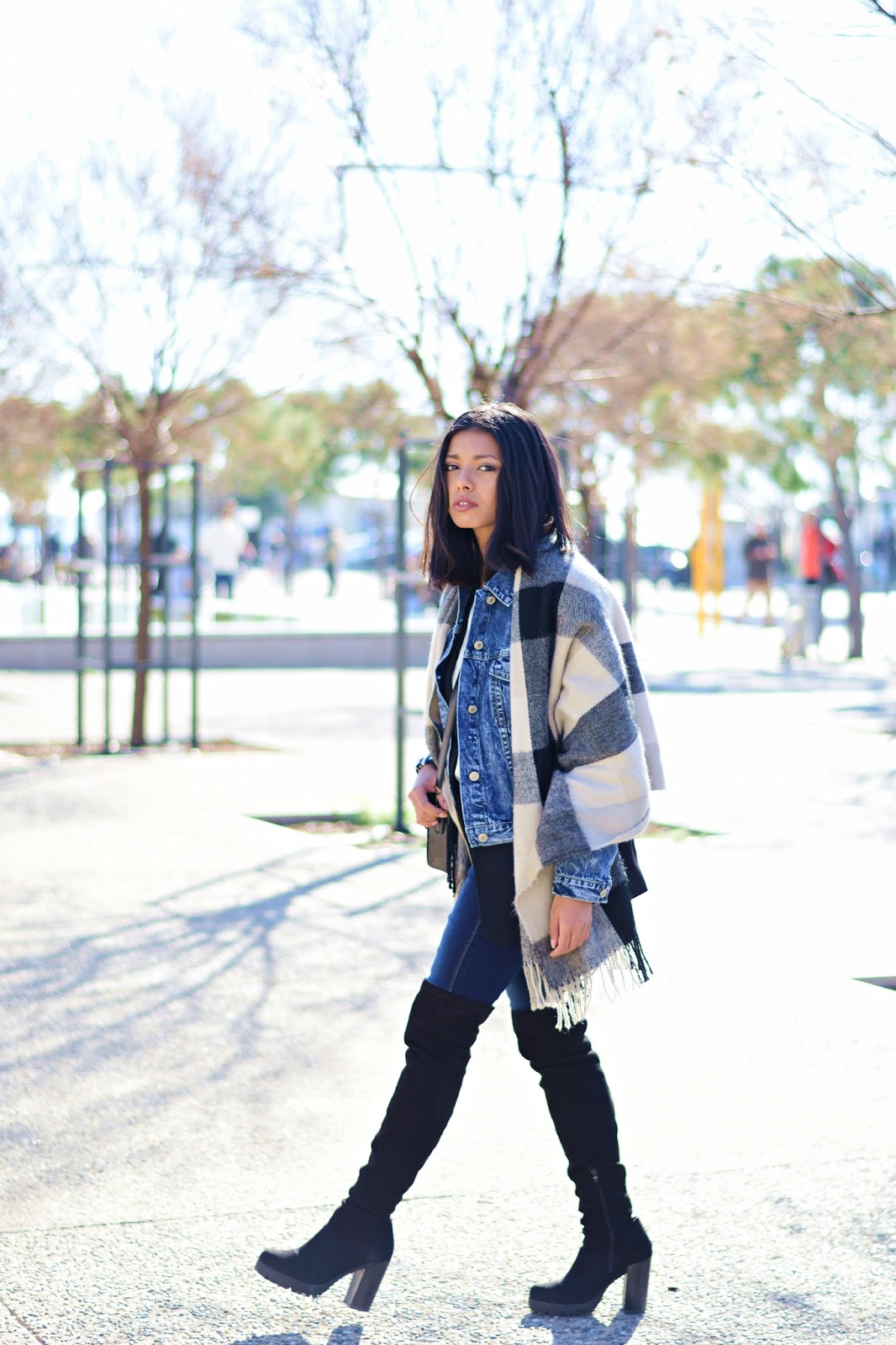 k-meets-style how to wear denim on denim