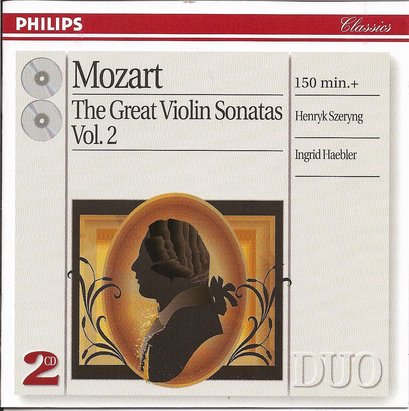 MOZART HAEBLER, SZERYNG Violin and Piano Sonata 377/78 PHILIPS LP 6500 054