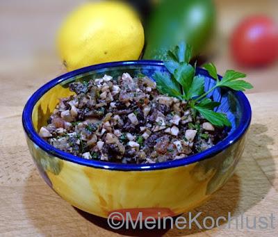 Ei-Oliven Aufstrich aus Spanien