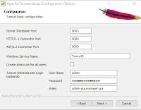 16.4 Apache Tomcat Configuration