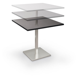 height adjustable bistro table
