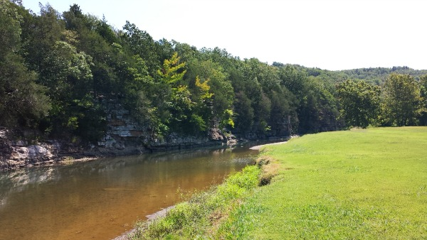 Riverside Park in West Fork, AR
