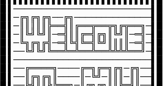Welcome To My Profile Copy Paste Text Art Cool Ascii Text Art 4 U