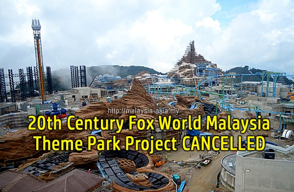 Fox Cancels Theme Park Contract With Genting Malaysia