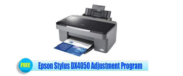 Epson Stylus DX4050 Adjustment Program