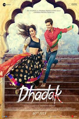 Dhadak 2018 Hindi WEB-DL 480p 200Mb HEVC x265