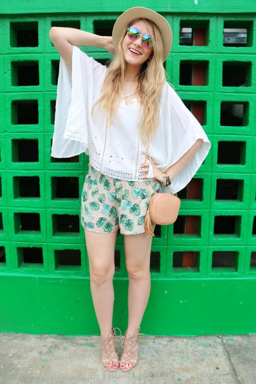 Cute shorts outfit for Summer