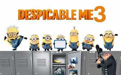 Despicable Me 3 (2017) Hindi English Movie Download 300mb