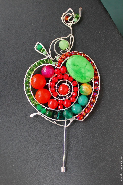statement wire wrapped gemstone jewelry by rozemasha the