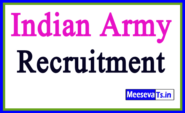 Join Indian Army Recruitment Notification