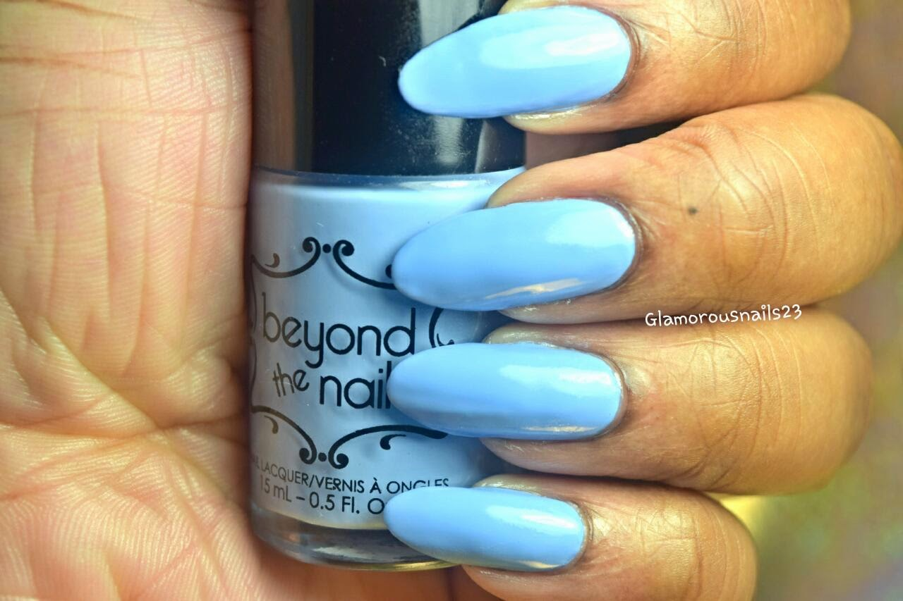 Beyond The Nail Spring Blue Swatch