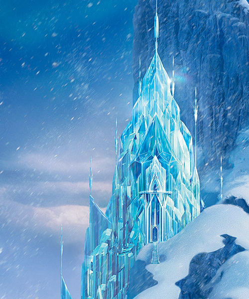 The Ag Minis Of Snickerdoodle Street Diy Frozen Ice Palace