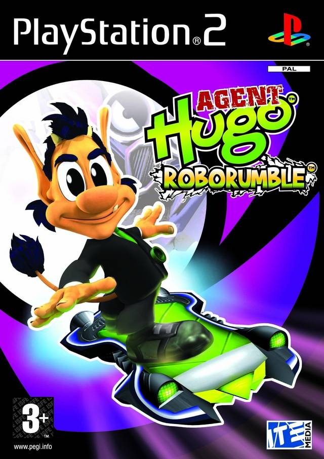 Agent Hugo Roborumble PAL PS2