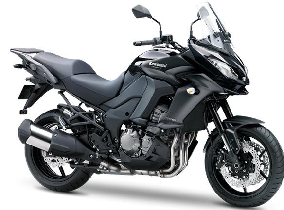 Kawasaki Versys 1000 2015: Color Negro