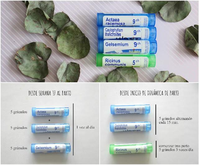 Homeopatía para el parto