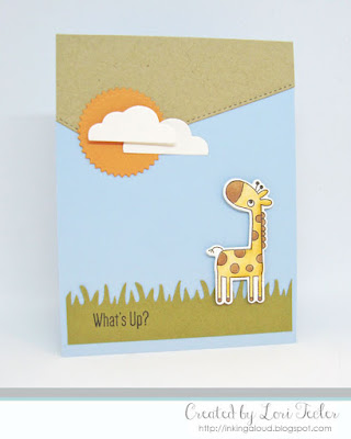 What's Up? card-designed by Lori Tecler/Inking Aloud-stamps and dies from My Favorite Things