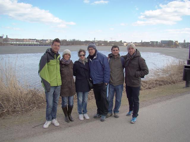Lago helado en Helsinki
